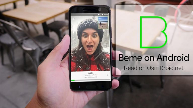 beme on android
