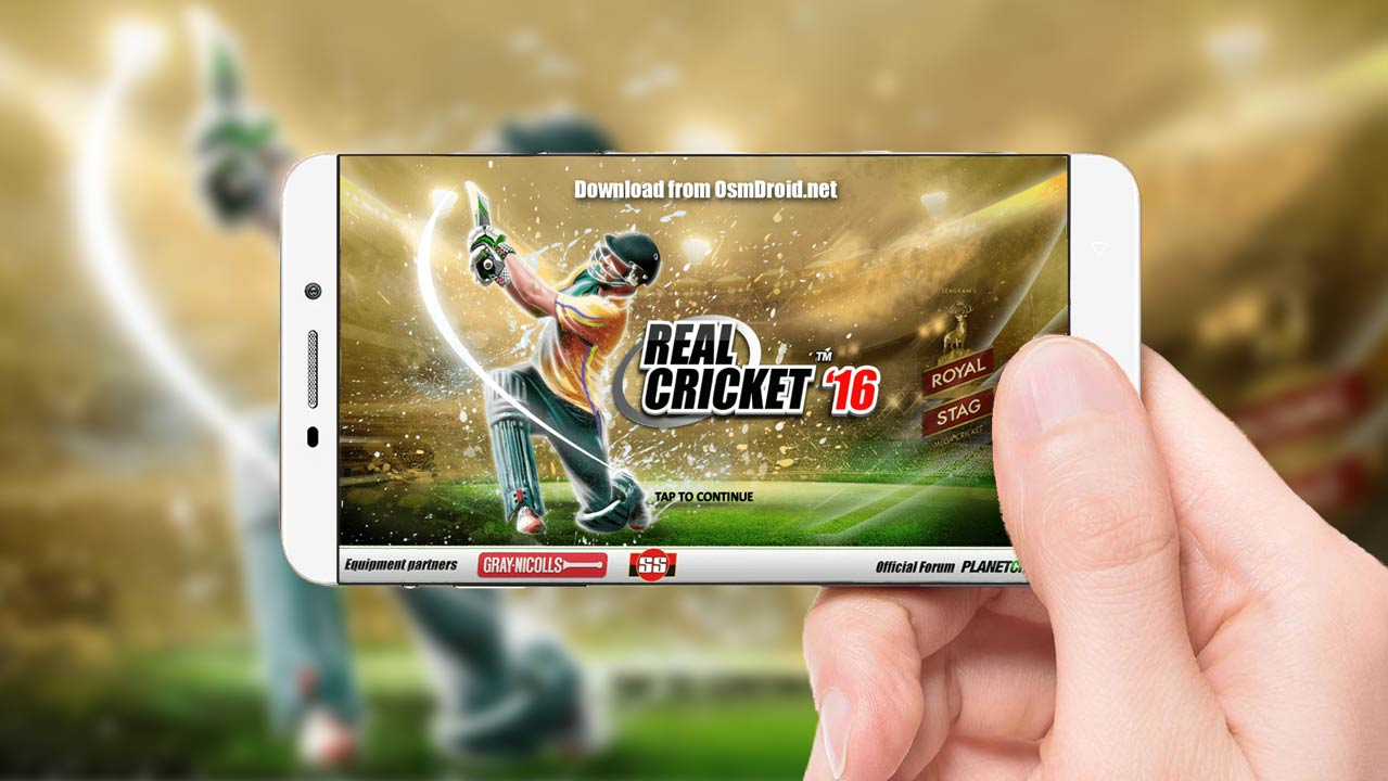 real cricket 16 modded
