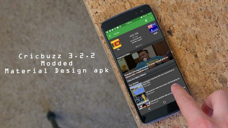 cricbuzz material design