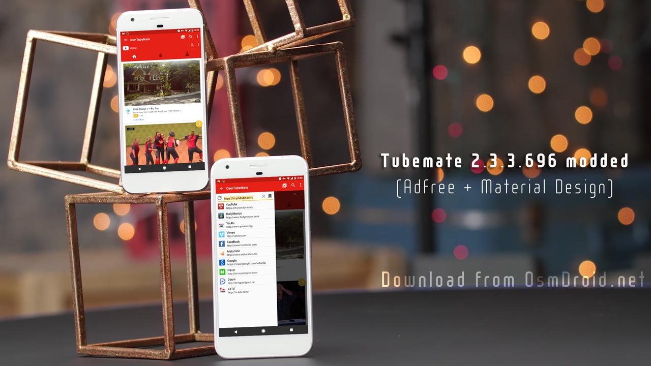tubemate modded adfree material design