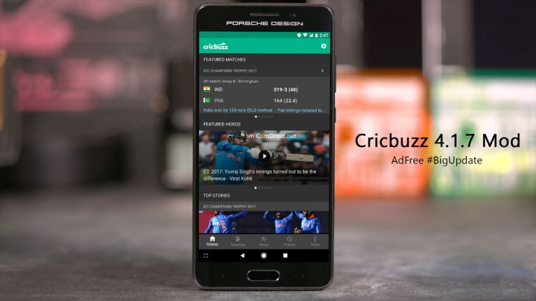 cricbuzz adfree