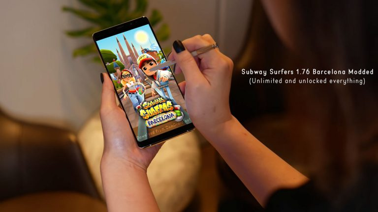 subway surfers Barcelona spain